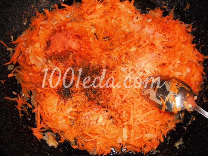 Морская рыба в духовке с овощами под майонезом: рецепт с пошаговым фото - Шаг №4