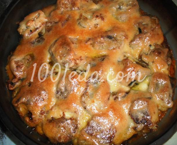 Морская рыба в духовке с овощами под майонезом: рецепт с пошаговым фото - Шаг №8