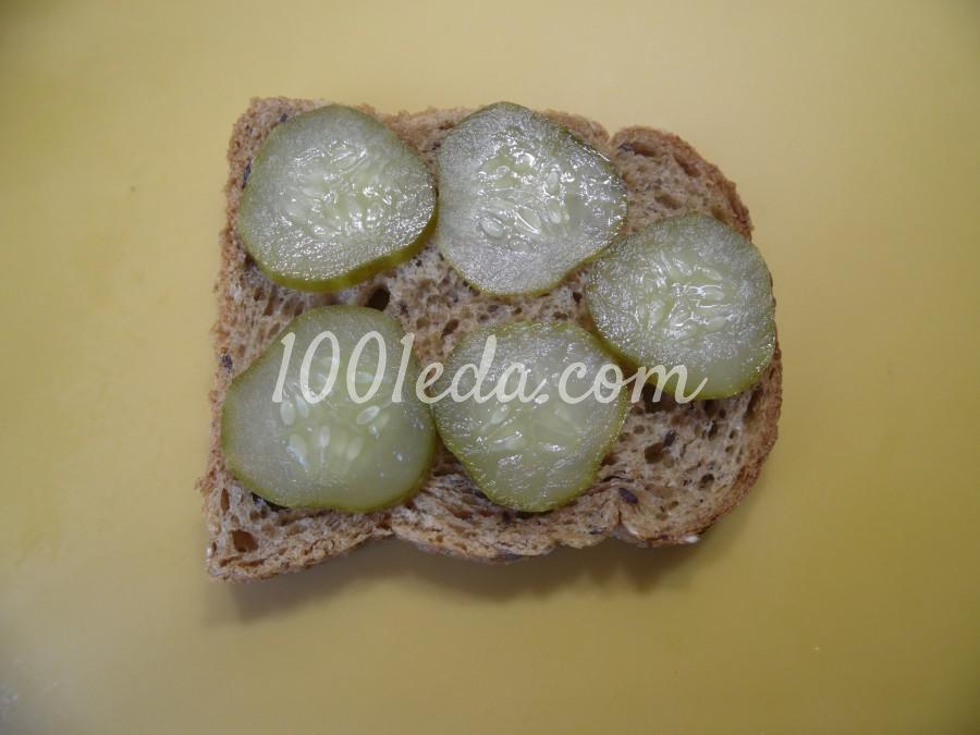 Мужской бутерброд с тушенкой: рецепт с пошаговым фото - Шаг №3