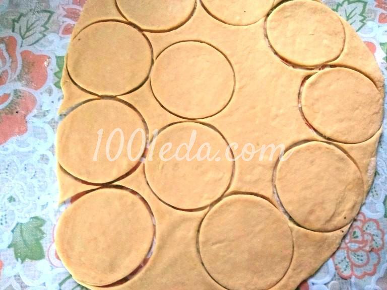 Мясной пирог Хризантема: рецепт с пошаговым фото - Шаг №4