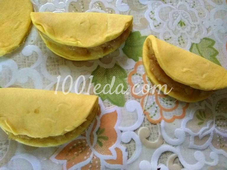 Мясной пирог Хризантема: рецепт с пошаговым фото - Шаг №5
