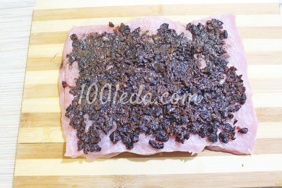 Мясной рулет с черносливом: пошаговый с фото - Шаг №5