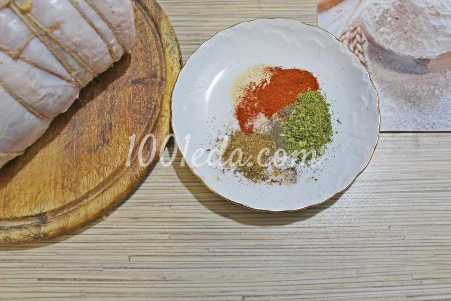 Мясной рулет с черносливом: пошаговый с фото - Шаг №8