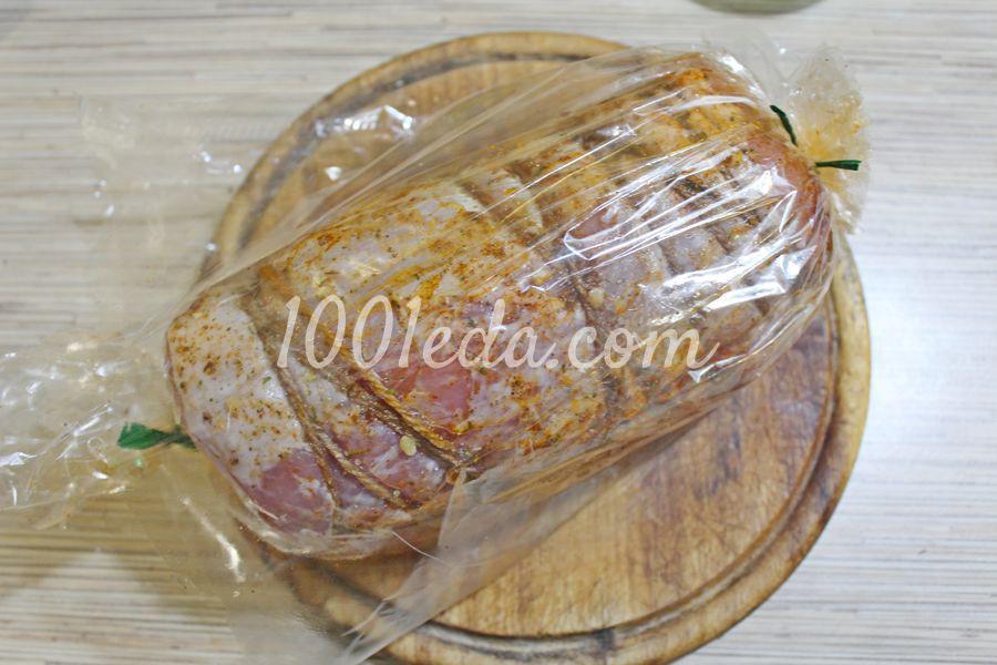Мясной рулет с черносливом: пошаговый с фото - Шаг №9