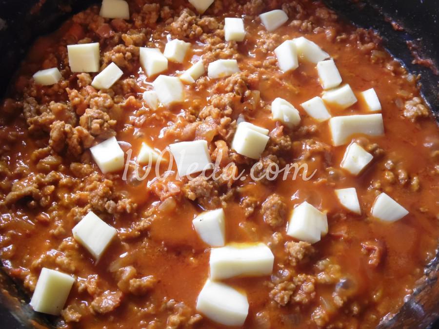 Мясной соус к пасте: пошаговое фото - Шаг №5
