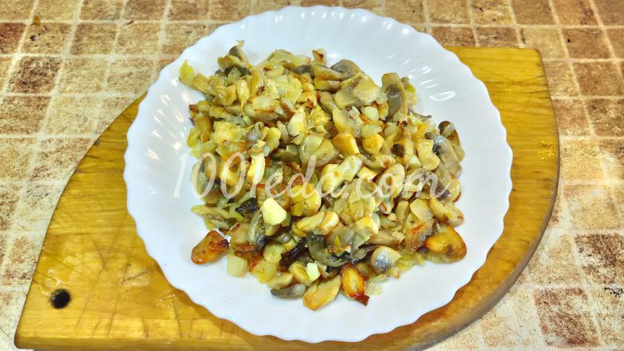 Мясной хлеб с шампиньонами и сыром: рецепт с пошаговым фото - Шаг №1