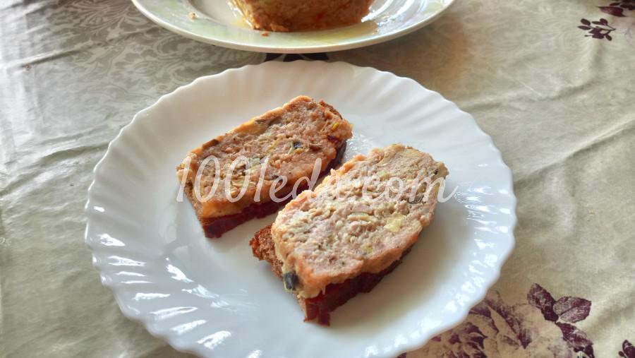 Мясной хлеб с шампиньонами и сыром: рецепт с пошаговым фото - Шаг №6