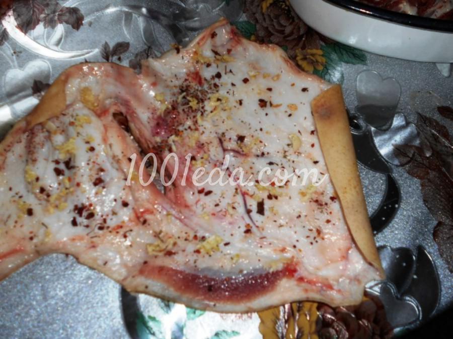 Рулет из свиной рульки, приготовленный в духовке: пошаговый с фото - Шаг №5