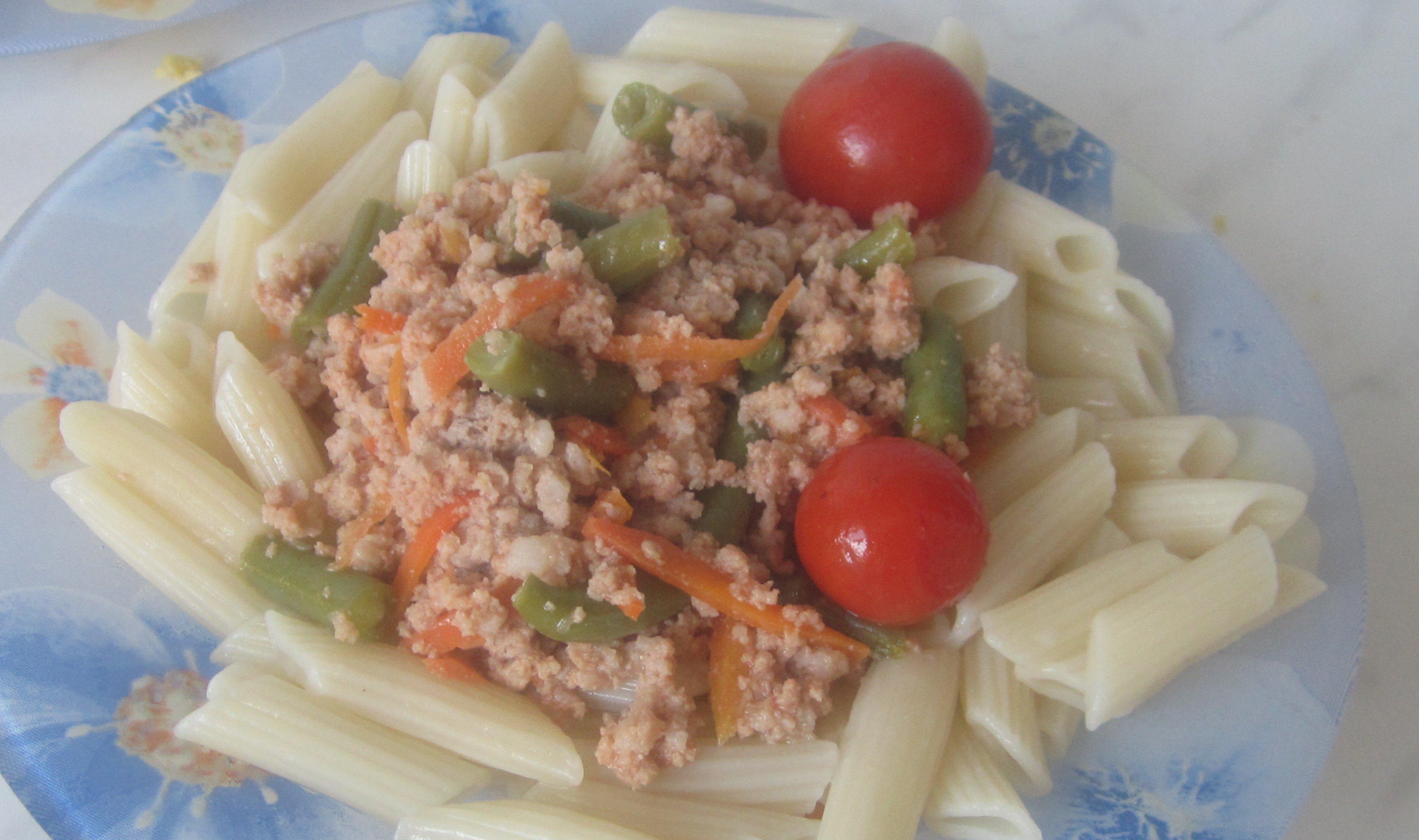 Стручковая фасоль с макаронами рецепты