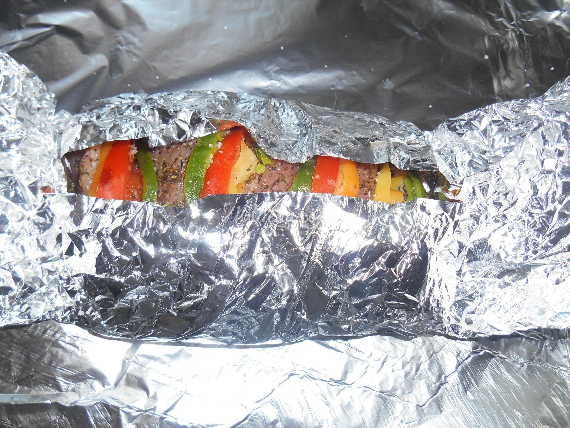 Рецепты приготовления мяса в духовке в фольге 160