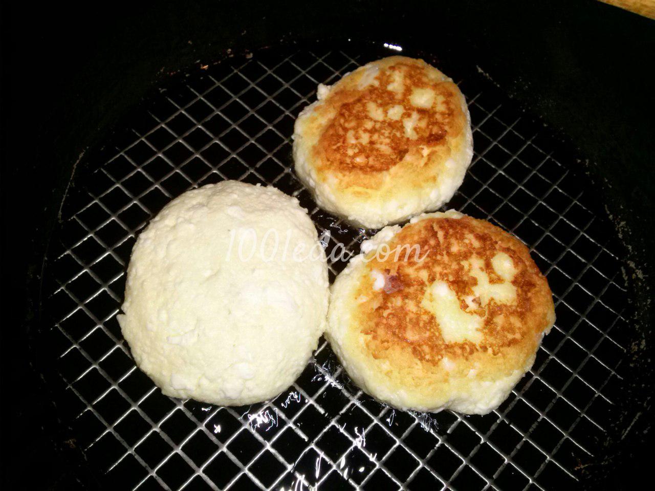 Фитнес сырники из творога рецепт пошагово