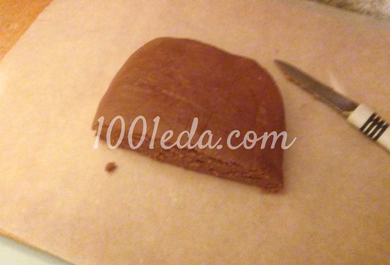 Новогоднее медовое печенье: пошаговое фото - Шаг №7
