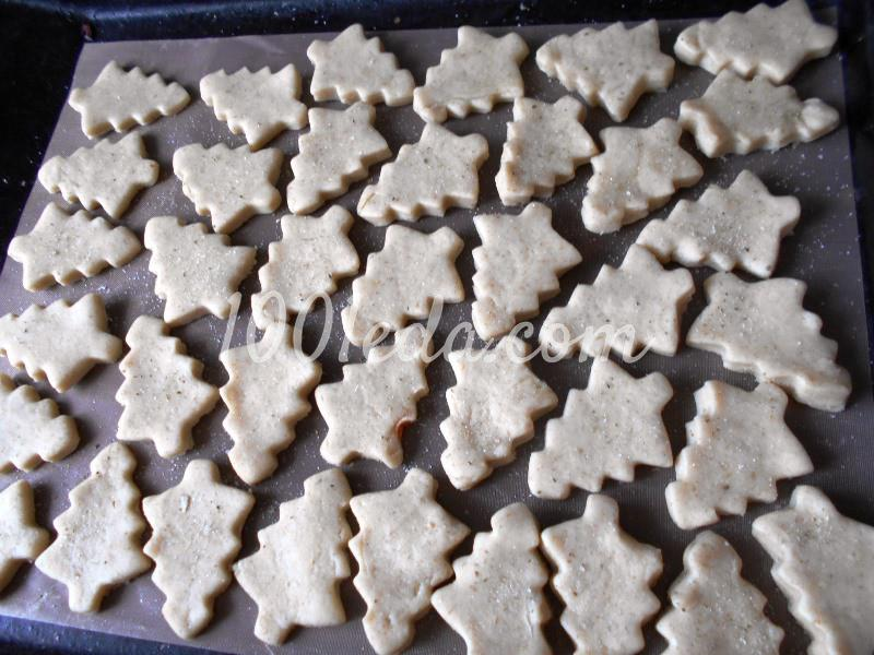 """Новогоднее соленое печенье """"Для старшеньких"""": пошаговое фото - Шаг №6"""