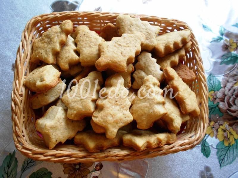 """Новогоднее соленое печенье """"Для старшеньких"""": пошаговое фото - Шаг №8"""
