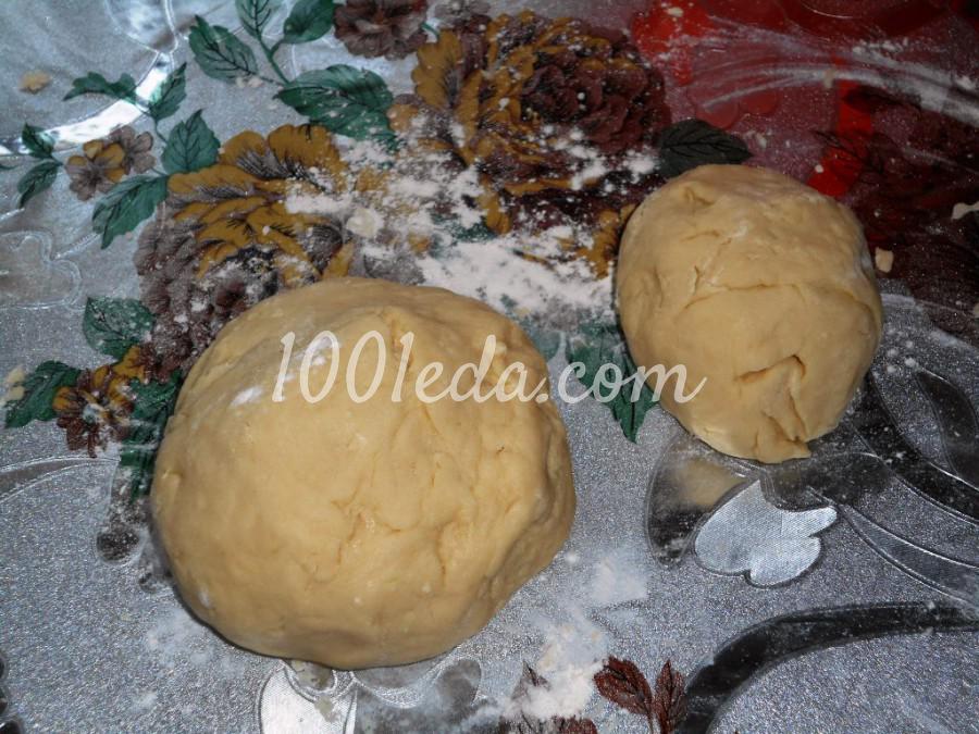Новогодний пирог на сметане Ёлочки-сосёночки: пошаговый с фото - Шаг №3
