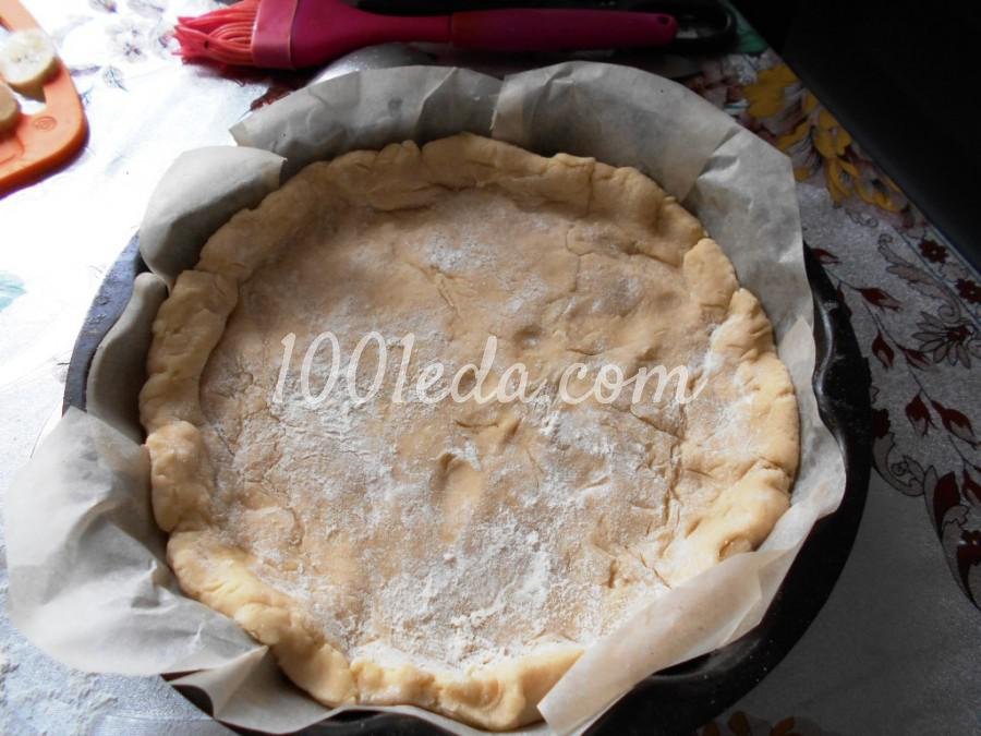 Новогодний пирог на сметане Ёлочки-сосёночки: пошаговый с фото - Шаг №5