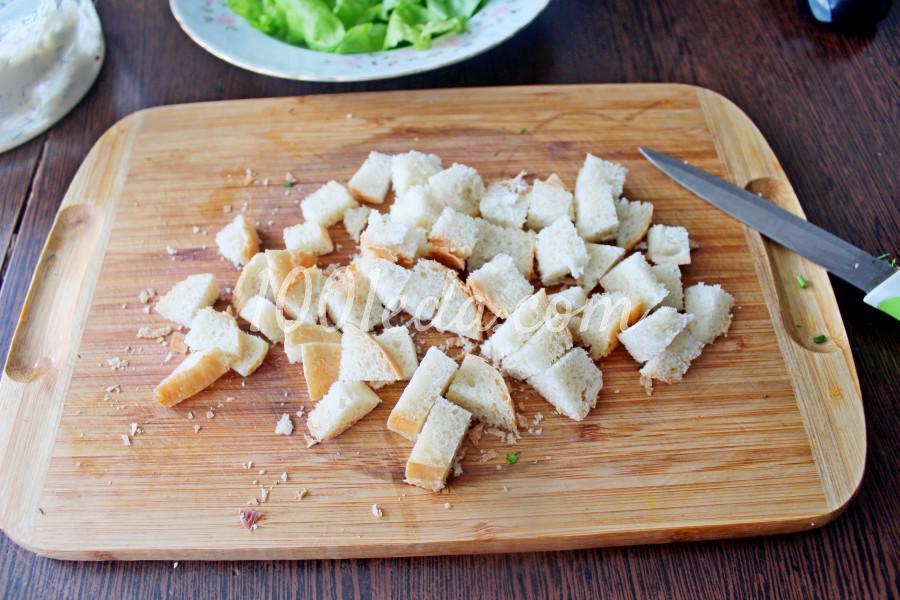 Новогодний салат с мандаринами и курицей: пошаговый с фото - Шаг №3