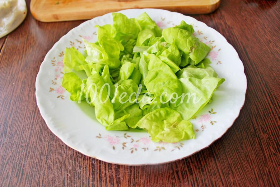 Новогодний салат с мандаринами и курицей: пошаговый с фото - Шаг №4
