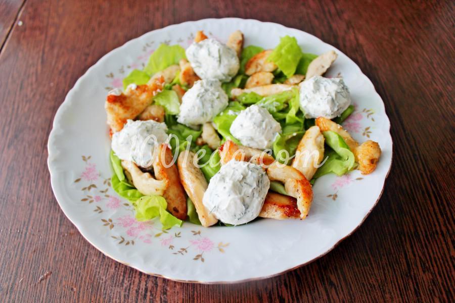 Новогодний салат с мандаринами и курицей: пошаговый с фото - Шаг №6