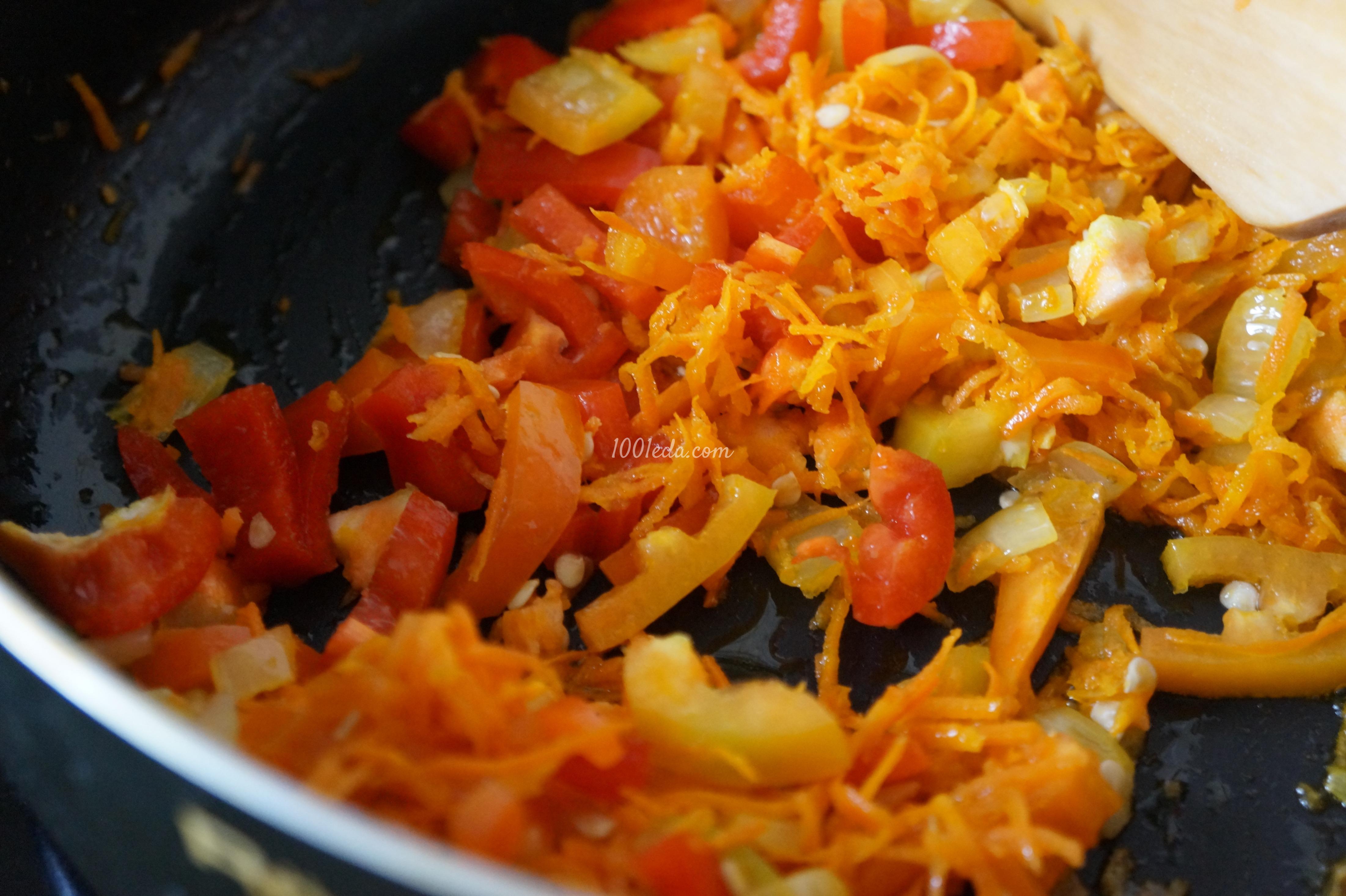 Тушеный рис с овощами рецепт с фото пошагово