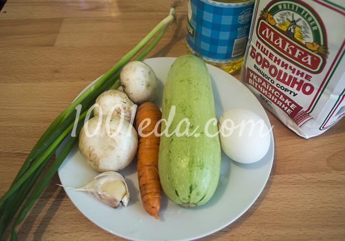 Из кабачков рецепт фото самые вкусные