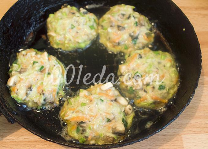 Оладьи из кабачков с сыром рецепты быстро и вкусно с фото
