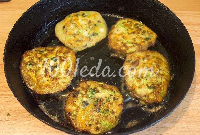 Луковые оладьи рецепт пошагово на сковороде