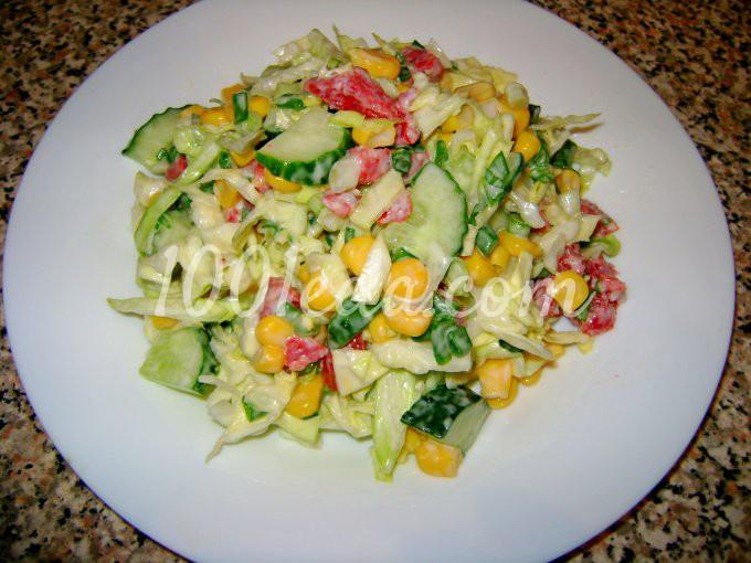 весенний салат рецепт с доступной едой