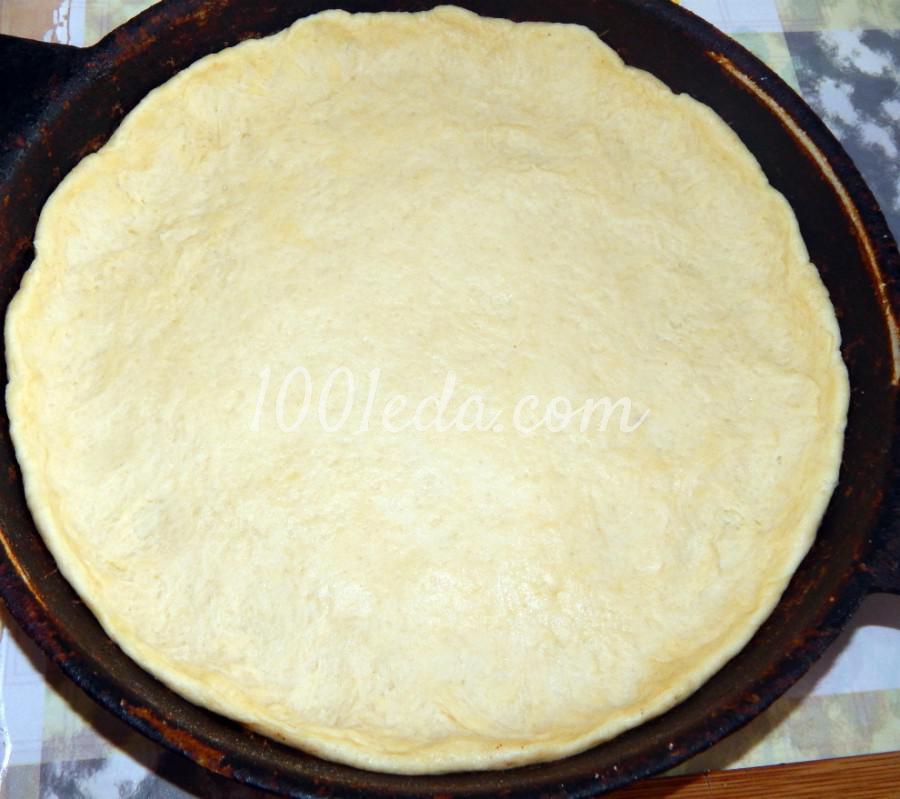 Открытый пирог с абрикосовым джемом: пошаговый с фото - Шаг №2