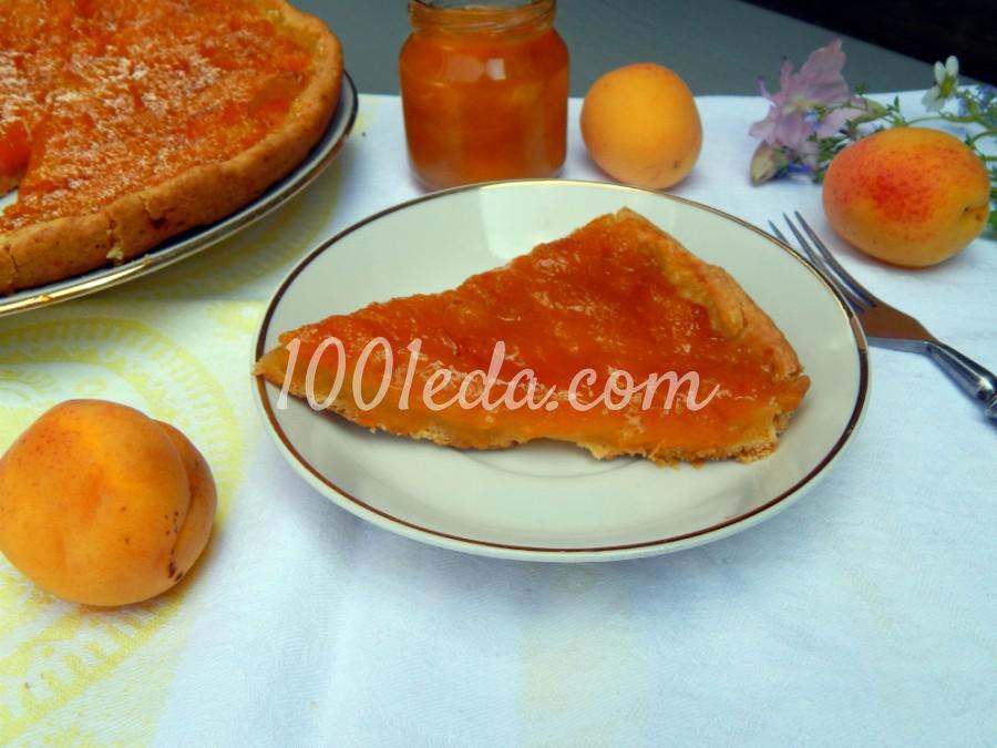 Открытый пирог с абрикосовым джемом: пошаговый с фото - Шаг №4