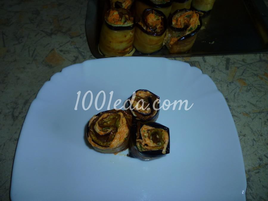 Овощная закуска из кабачка, баклажана и моркови: пошаговое фото - Шаг №13