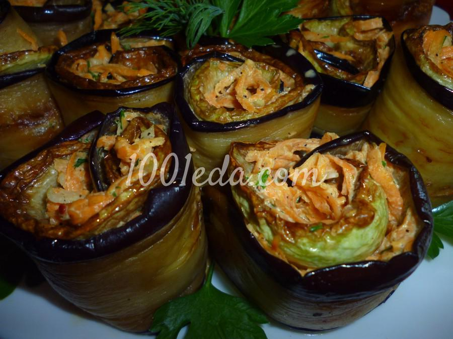 Овощная закуска из кабачка, баклажана и моркови: пошаговое фото - Шаг №15