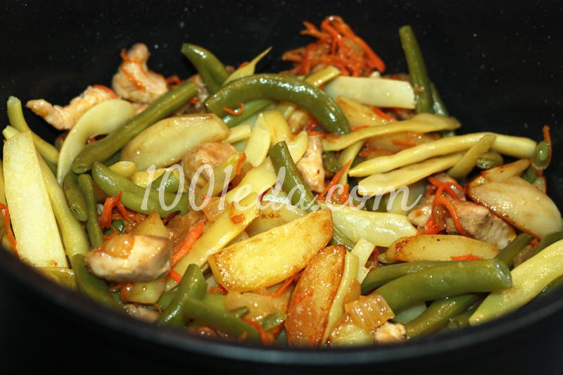 Рецепт со стручковой фасолью рецепт с фото пошагово