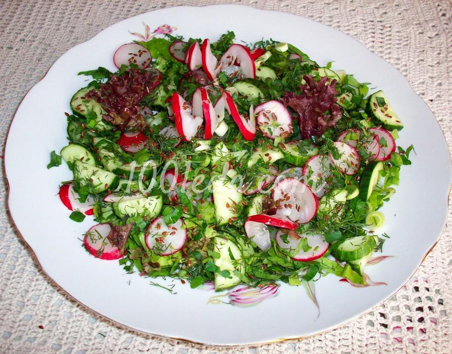Овощной салат Ассорти: рецепт с пошаговым фото - Шаг № 6