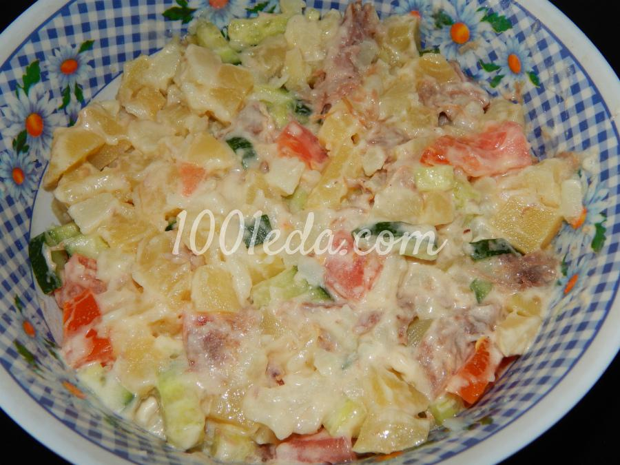 Салаты мясные рецепты пошагово