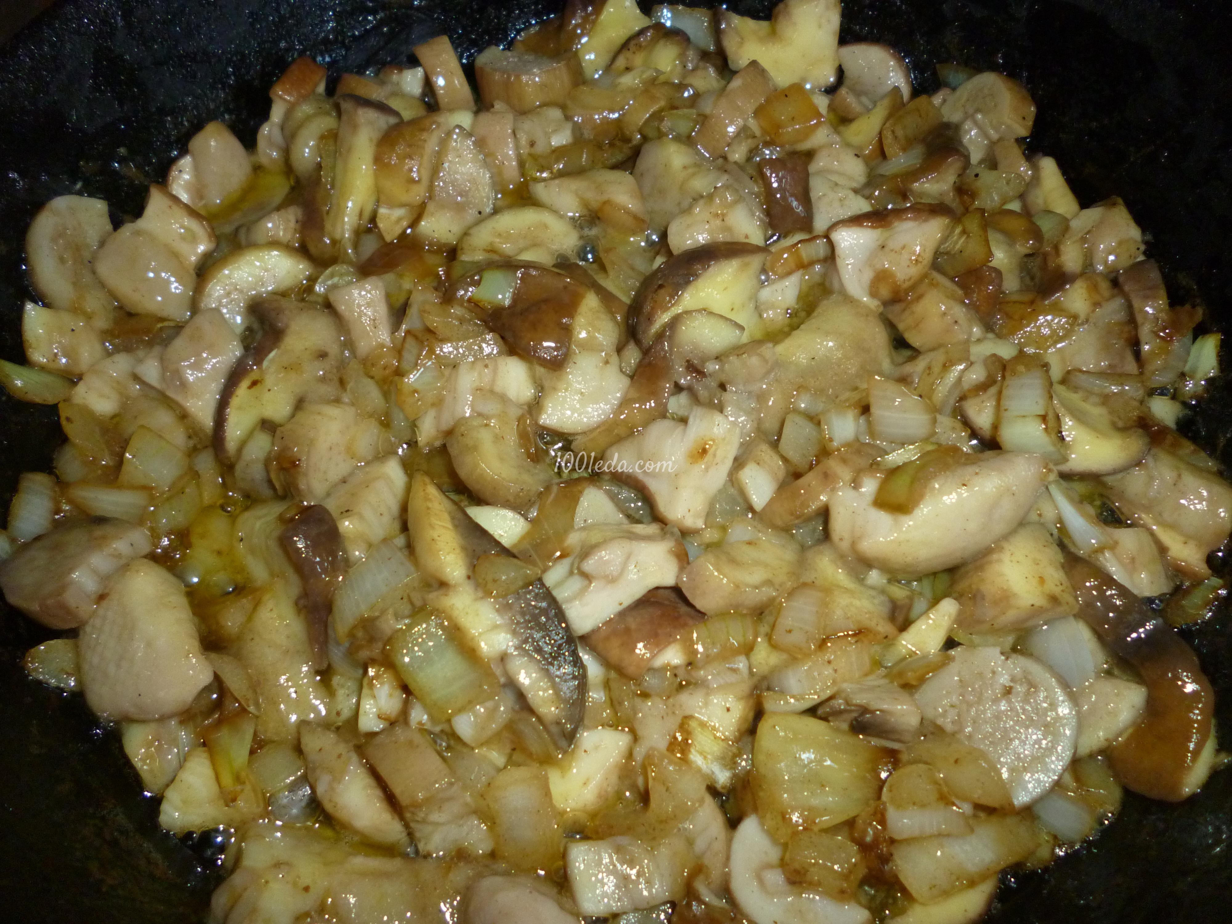 Вкусный из белых грибов