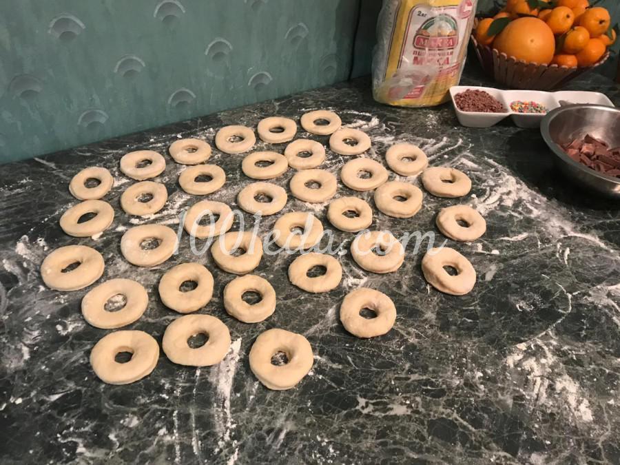 """Пончики """"Нежность"""" на молоке: пошаговое фото - Шаг №2"""