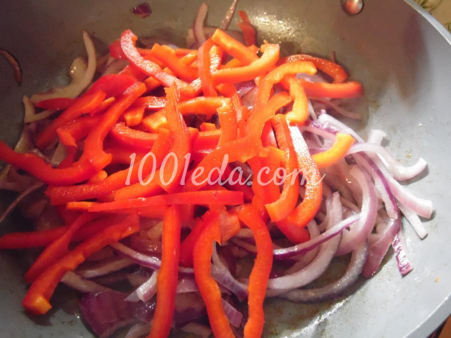 Паста с томатно-перечным соусом: рецепт с пошаговым фото - Шаг №3
