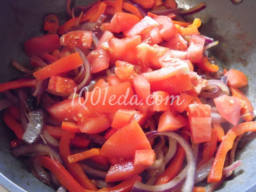 Паста с томатно-перечным соусом: рецепт с пошаговым фото - Шаг №4