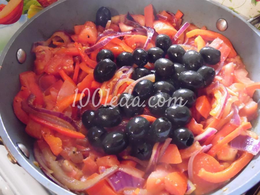 Паста с томатно-перечным соусом: рецепт с пошаговым фото - Шаг №5