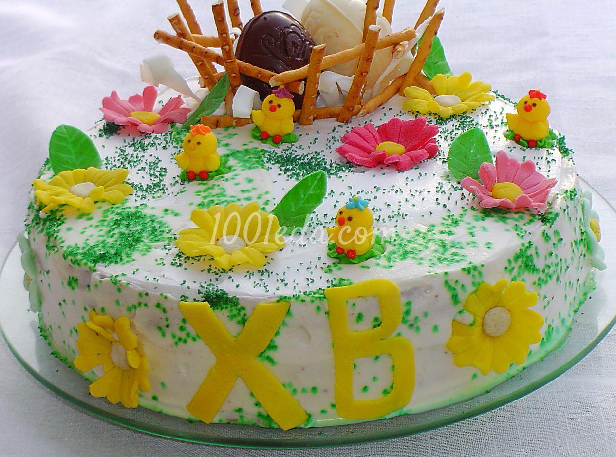 Рецепты детских тортов с фото на день рождения