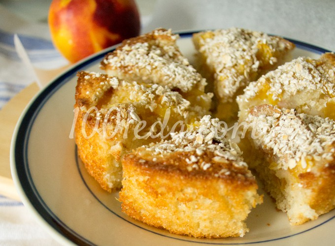 Рецепт персика из творога