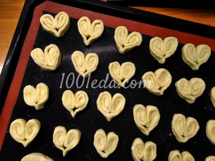 Печенье Сердечки: пошаговое фото - Шаг №8