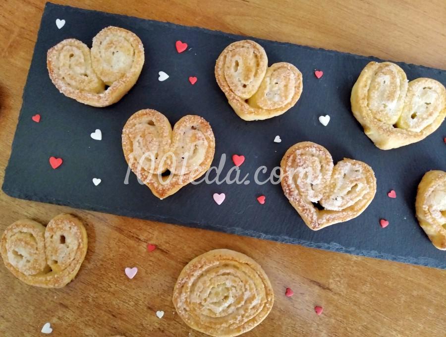 Печенье Сердечки: пошаговое фото - Шаг №9