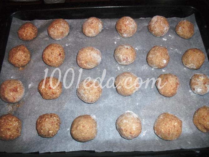 Печенье яблочно-овсяное: рецепт с пошаговым фото - Шаг №11