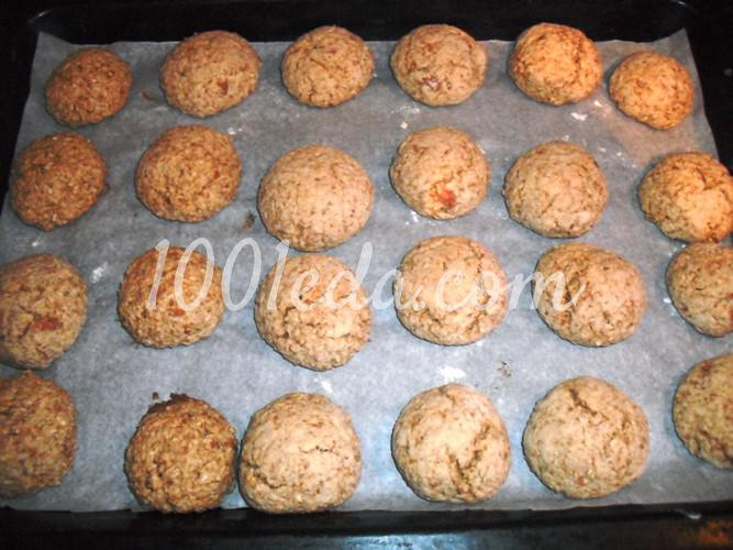 Печенье яблочно-овсяное: рецепт с пошаговым фото - Шаг №12
