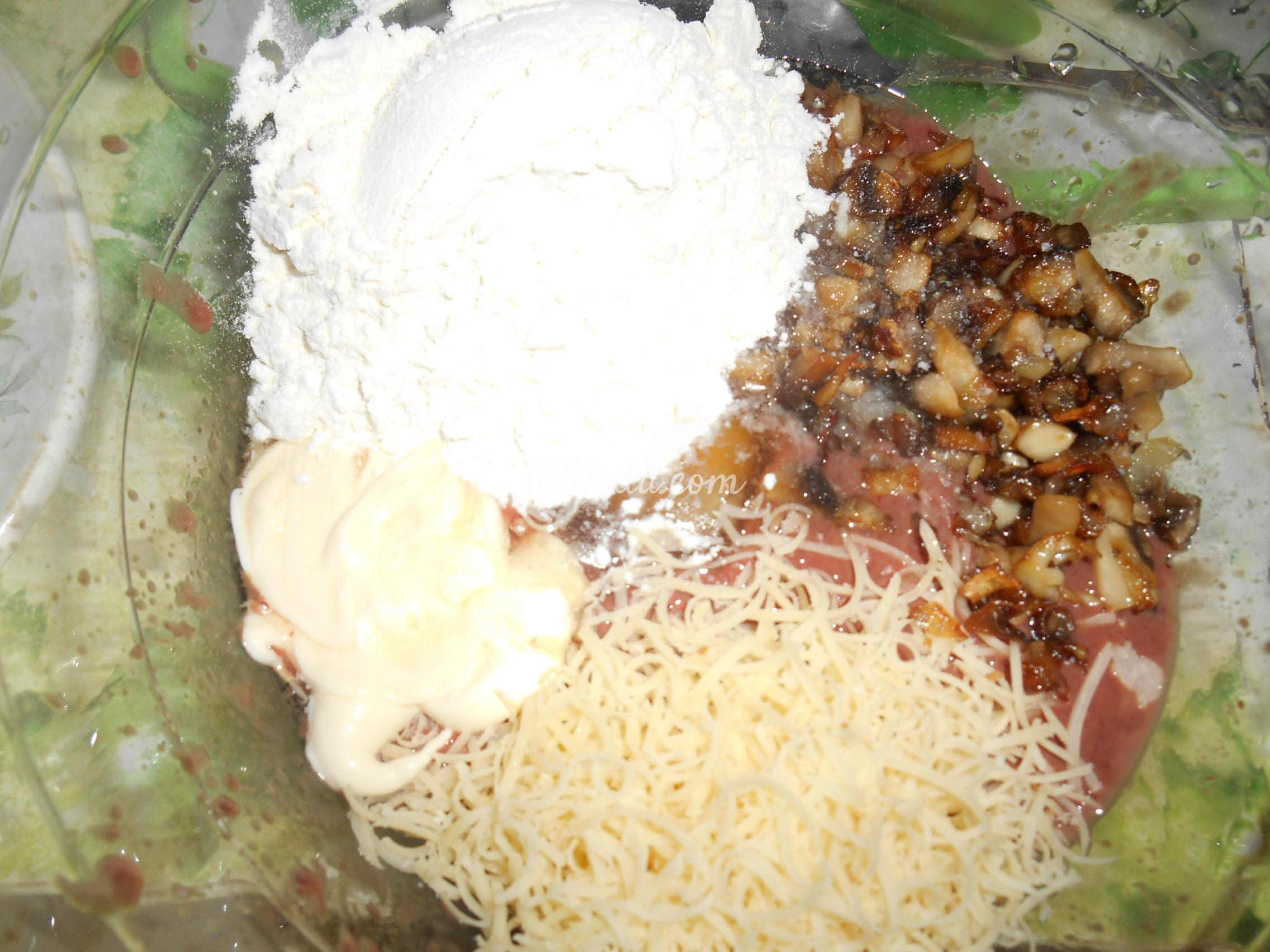 Торт гриб рецепт с пошагово