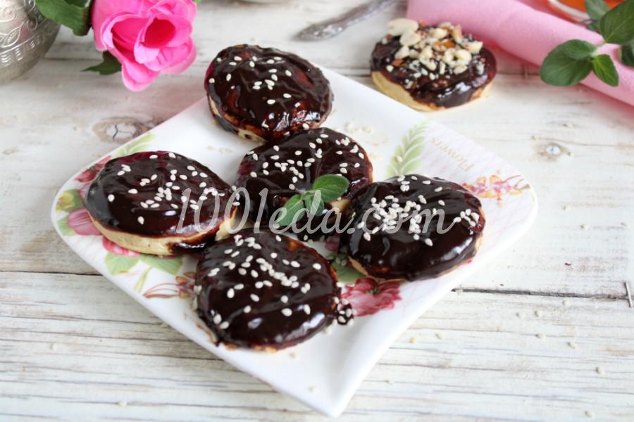 Песочное печенье с шоколадной глазурью: пошаговое фото - Шаг №5