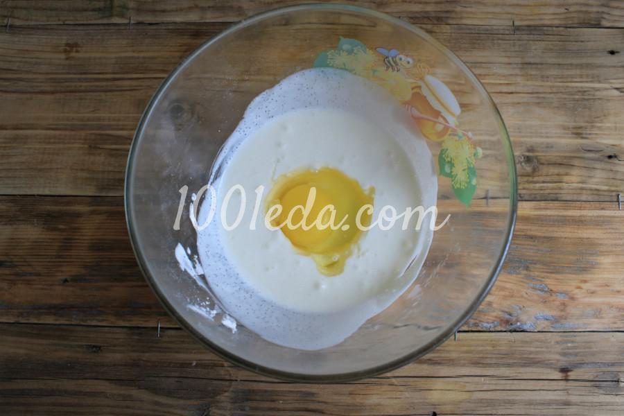 Песочный пирог с клубникой и сметанной заливкой: пошаговый с фото - Шаг №6