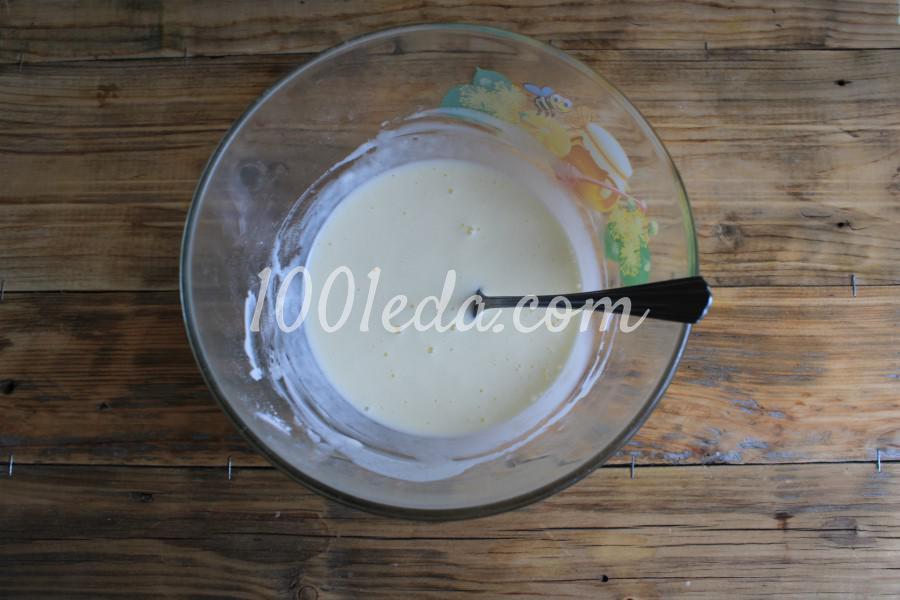 Песочный пирог с клубникой и сметанной заливкой: пошаговый с фото - Шаг №7